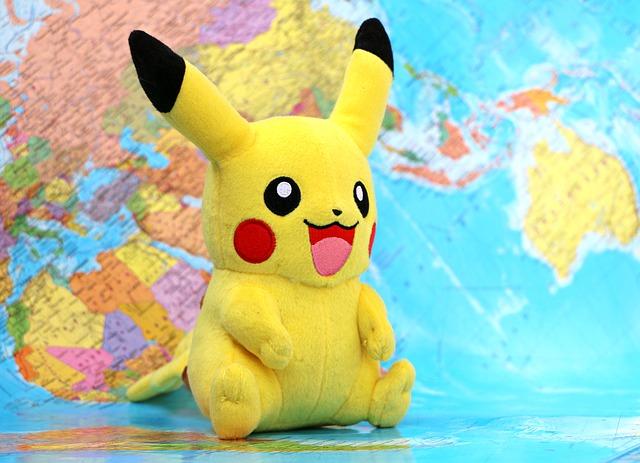 pikachu u mapy